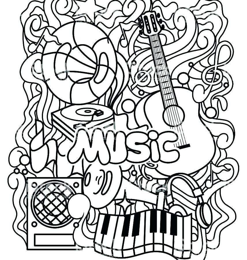 Musical Coloring Pages For Kids  Free Coloring Pages Disney Chipmunks Movie Soundtrack