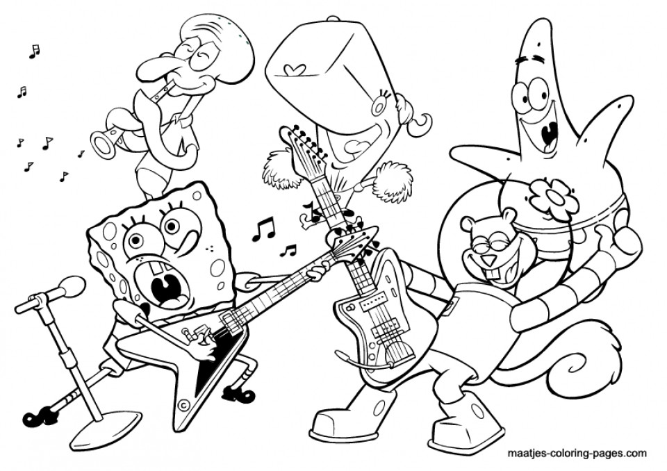 Musical Coloring Pages For Kids  20 Free Printable Music Coloring Pages EverFreeColoring