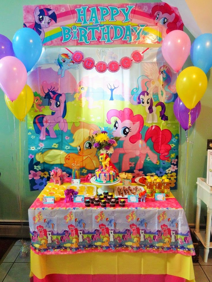 Best ideas about My Little Pony Birthday Decorations . Save or Pin Giggle Bean my little pony decorations Now.