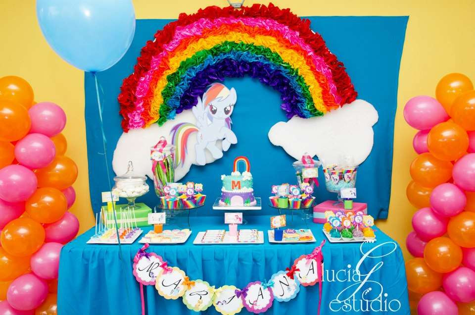 Best ideas about My Little Pony Birthday Decorations . Save or Pin My Little Pony Birthday Party Ideas Now.