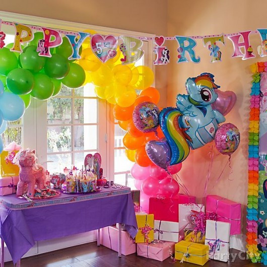 Best ideas about My Little Pony Birthday Decorations . Save or Pin Exciting My Little Pony Birthday Party Ideas for Kids Now.