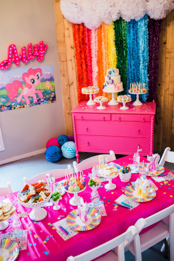 Best ideas about My Little Pony Birthday Decorations . Save or Pin My Little Pony Birthday Party Ideas Brony Now.