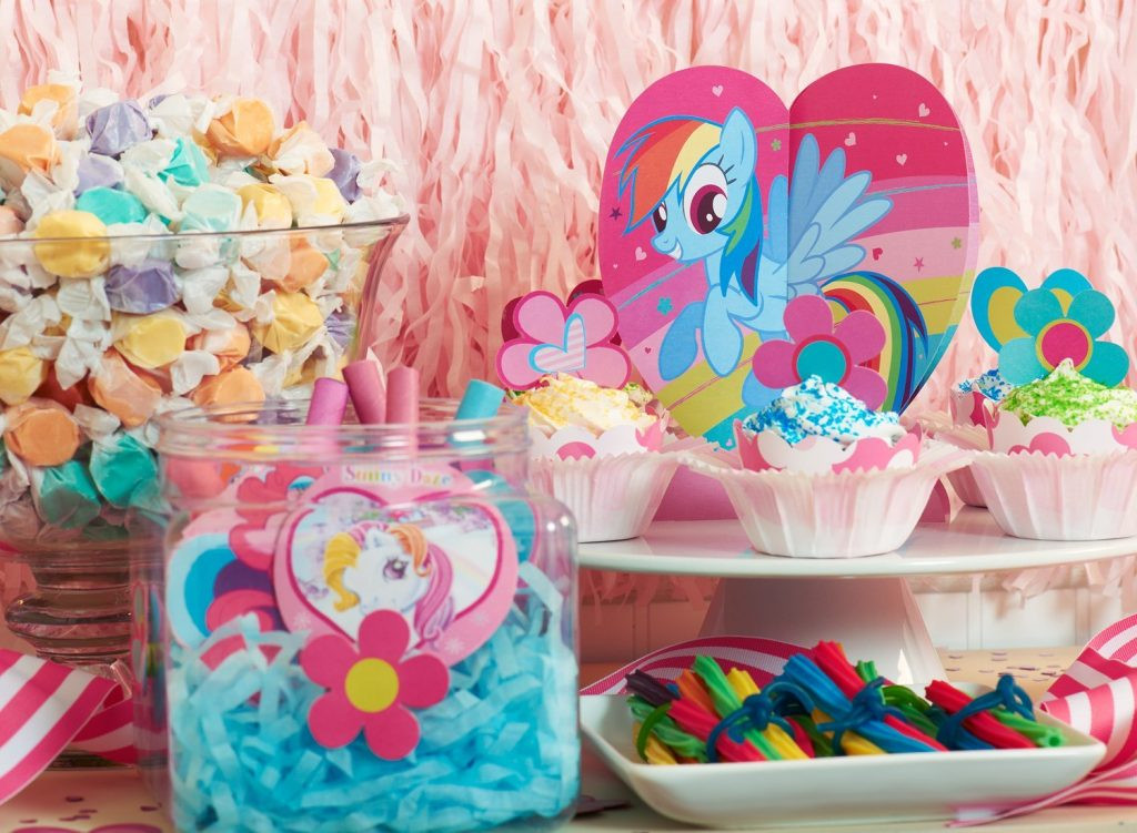 Best ideas about My Little Pony Birthday Decorations . Save or Pin 27 My Little Pony Party Ideas Smart Fun DIY Now.