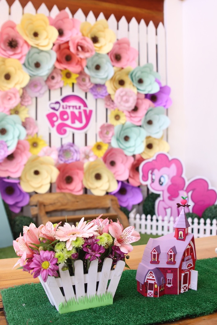 Best ideas about My Little Pony Birthday Decorations . Save or Pin Kara s Party Ideas My Little Pony Pastel Birthday Party Now.
