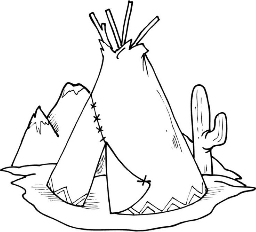 Native American Printable Coloring Pages  Native American Coloring Pages coloringsuite