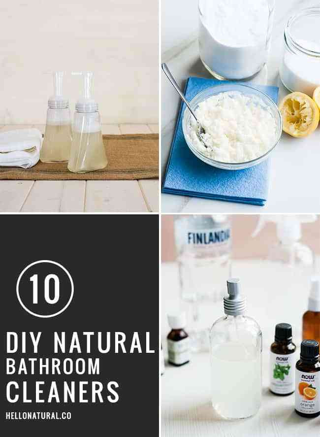 Best ideas about Natural Bathroom Cleaner . Save or Pin 10 DIY Natural Bathroom Cleaners Now.