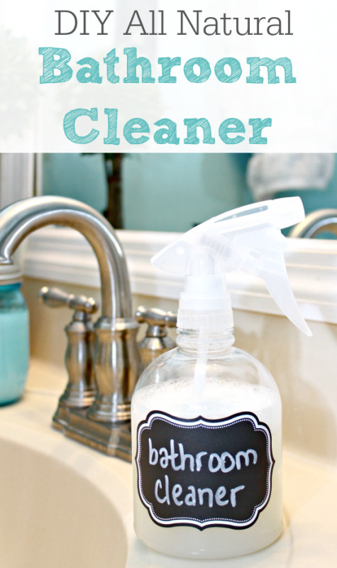 Best ideas about Natural Bathroom Cleaner . Save or Pin all natural bathroom cleaner diy all natural bathroom Now.