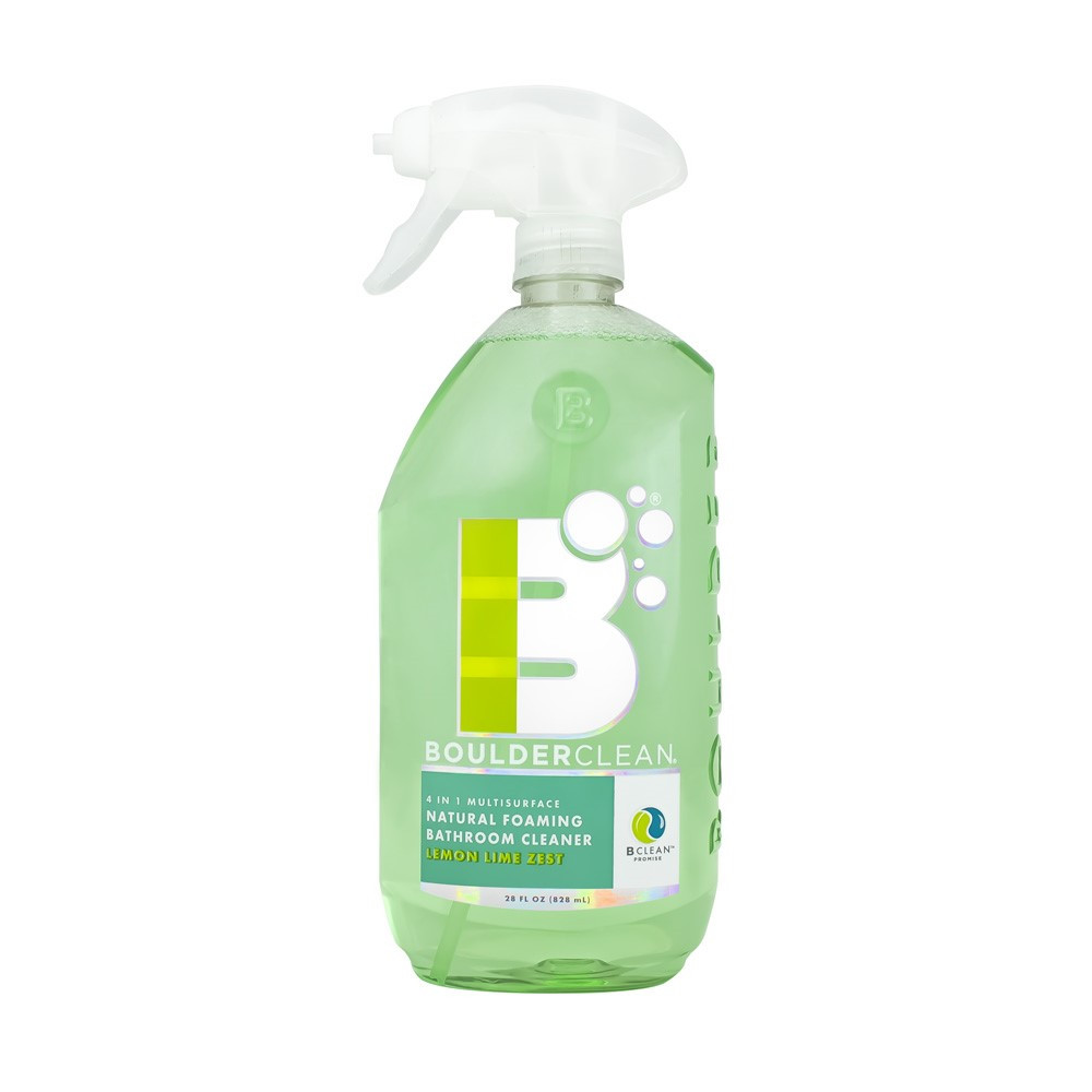 Best ideas about Natural Bathroom Cleaner . Save or Pin BoulderClean Natural Foaming Bathroom Cleaner Lemon Lime Now.