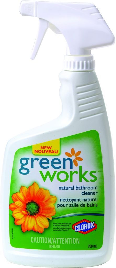 Best ideas about Natural Bathroom Cleaner . Save or Pin Buy GREEN WORKS Natural Bathroom Cleaner 709 ml from Value Now.