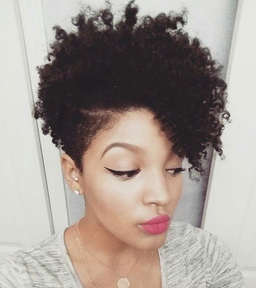 Natural Hairstyles For Black Women  75 Most Inspiring Natural Hairstyles for Short Hair in 2017