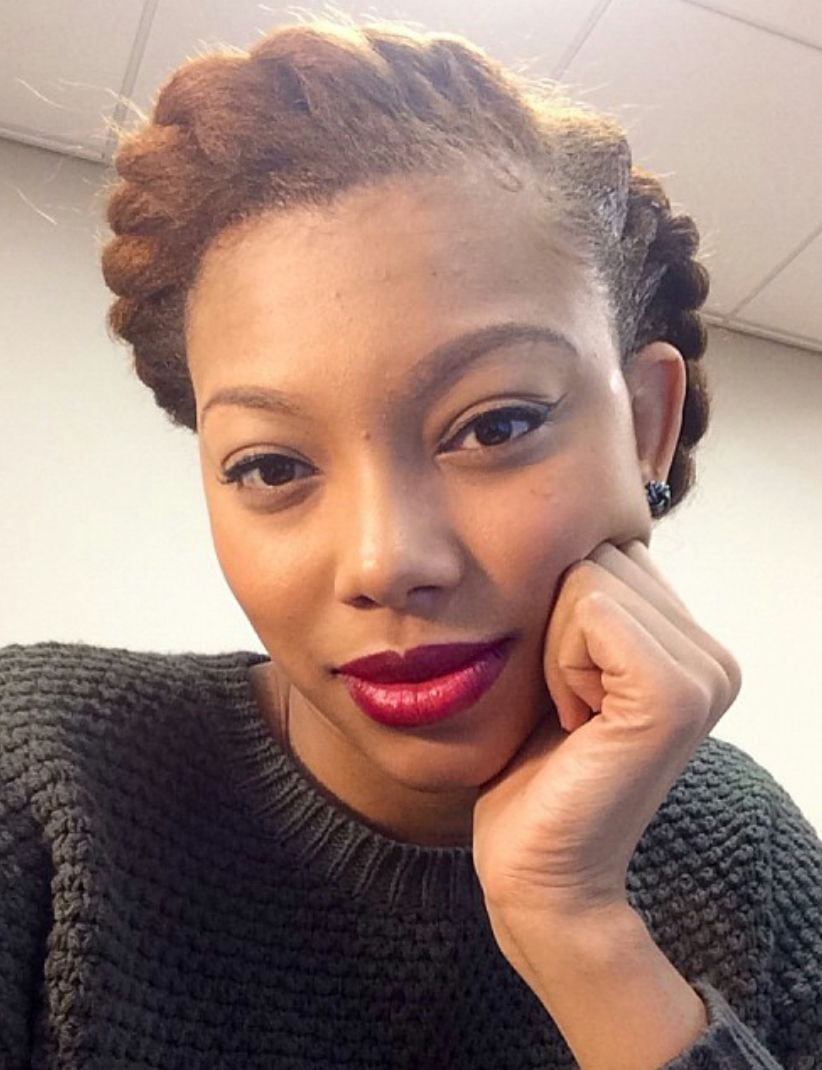 Natural Hairstyles For Job Interviews  ClassyCurlies interview with Bianca Golden of America