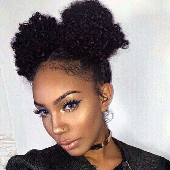 Best ideas about Natural Hairstyles For Medium Hair . Save or Pin African American Natural Hairstyles for Medium Length Hair Now.