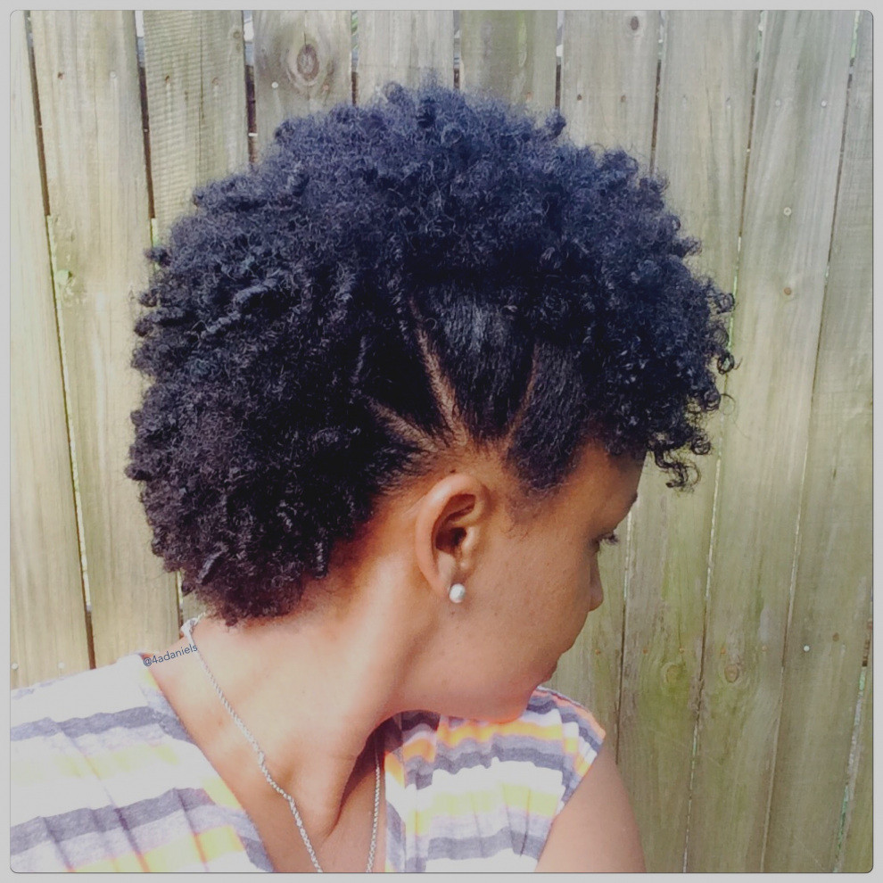 Best ideas about Natural Hairstyles For Medium Hair . Save or Pin Elegant Natural Hairstyles Mohawk Hair Frohawk Short Now.