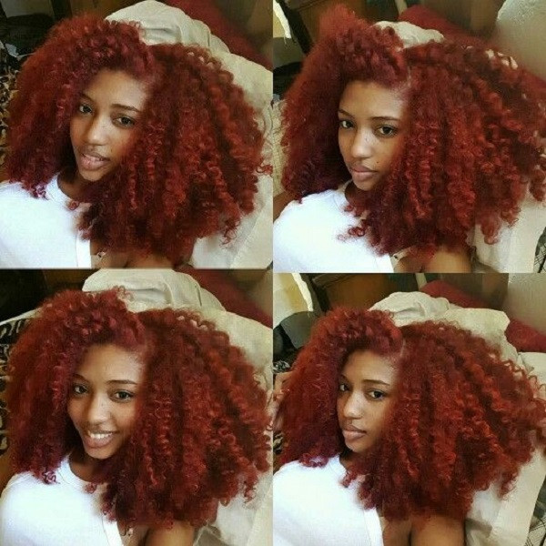 Natural Hairstyles With Color  20 Red Natural Hair Colors You Cannot Miss This Summer