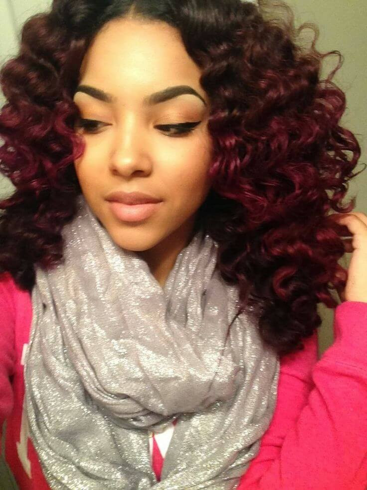 Natural Hairstyles With Color  Things to Consider When Choosing Hair Color on Natural Hair