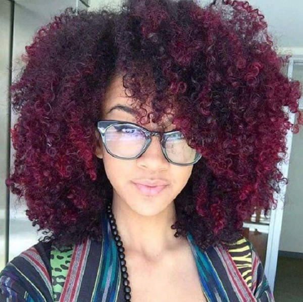 Natural Hairstyles With Color  Natural Hair Colors