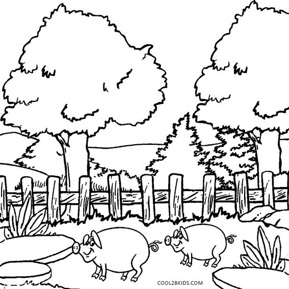 Nature Coloring Pages For Kids  Printable Nature Coloring Pages For Kids