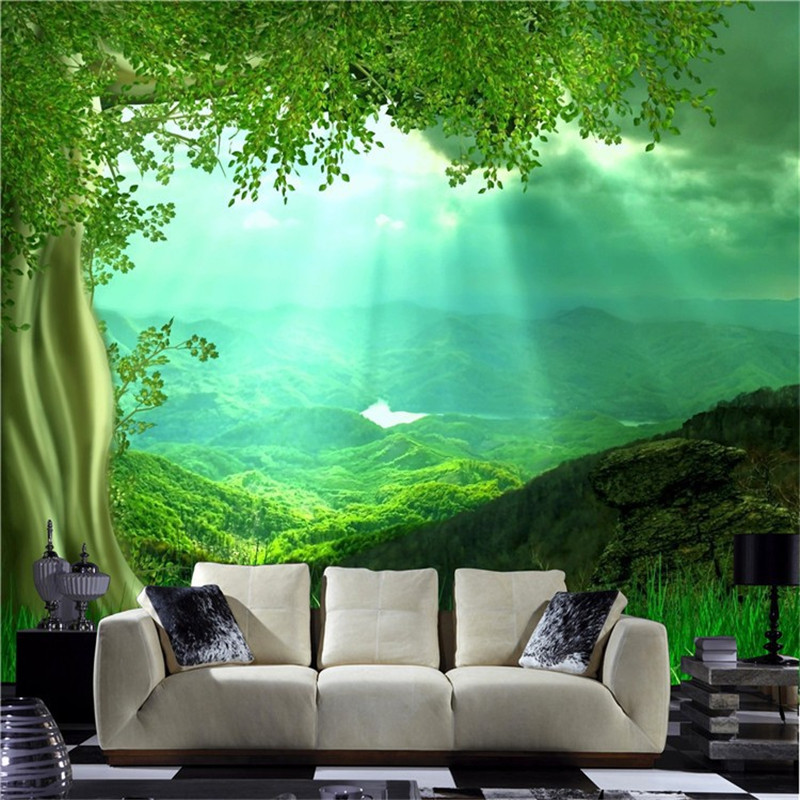 Best ideas about Nature Wall Art . Save or Pin Aliexpress Buy 3D nature wall art setting for living Now.