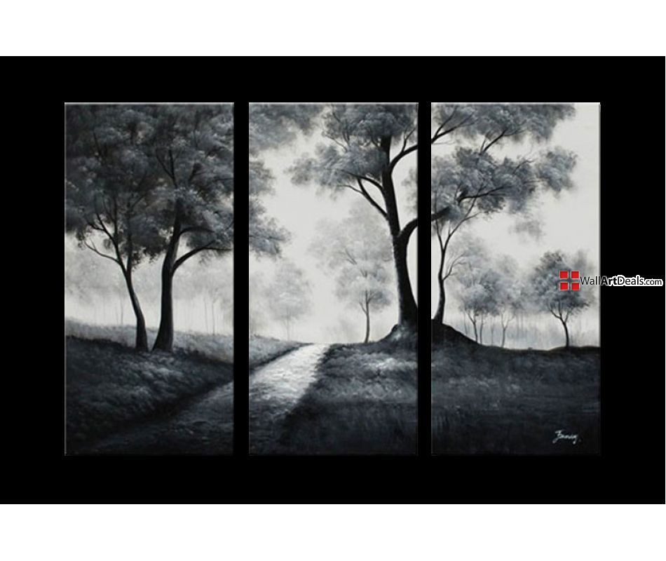 Best ideas about Nature Wall Art . Save or Pin Handpainted Nature in Black & White Wall Art Decor FRAMED Now.