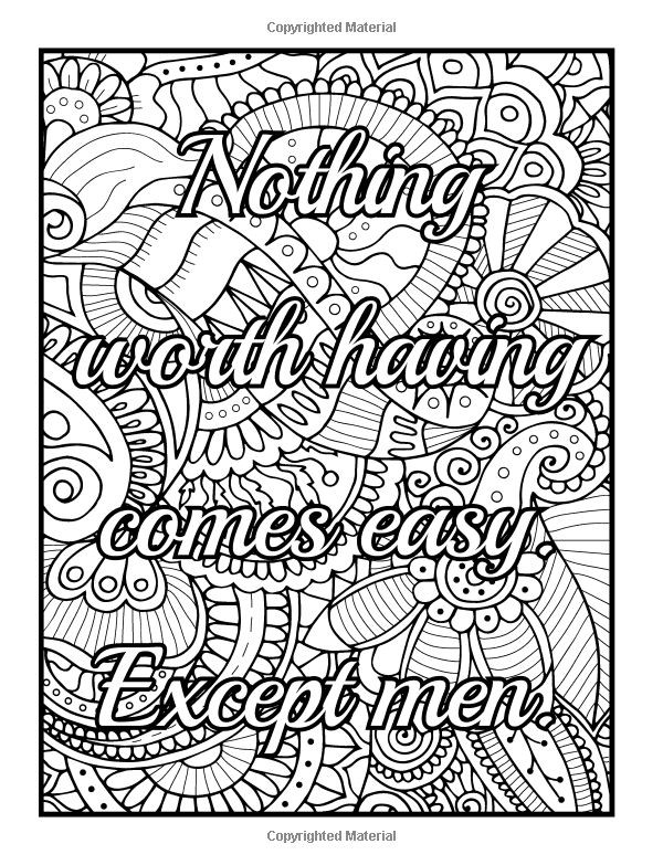 Naughty Adult Coloring Books  86 best coloring says images on Pinterest
