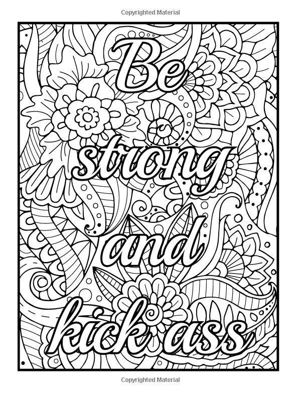 Naughty Adult Coloring Books  「swear words」のおすすめ画像 521 件 Pinterest