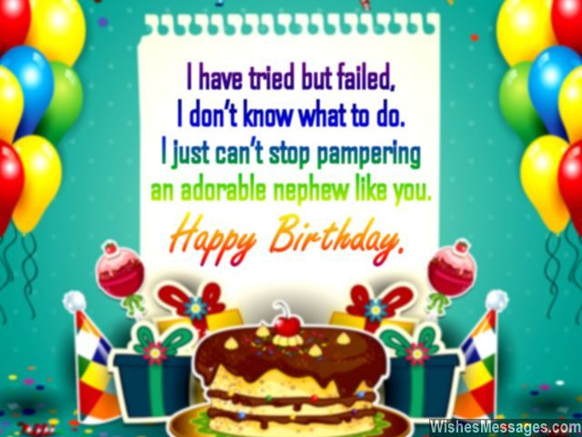 Nephew Birthday Wishes  Birthday Wishes for Nephew Quotes and Messages