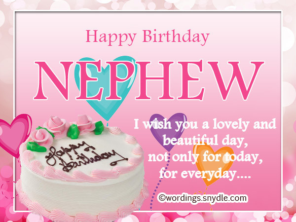 Nephew Birthday Wishes  Download Free Birthday Wishes For Nephew Younger e