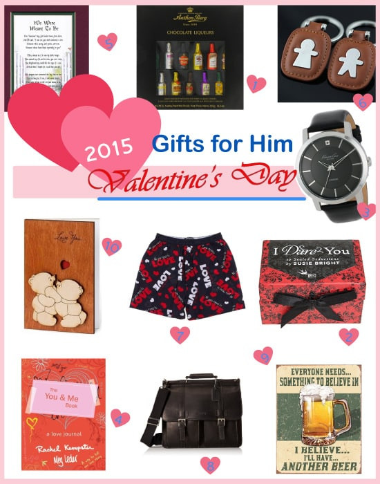 New Boyfriend Valentines Day Gift Ideas  Best Valentine's Day Gifts for Boyfriend 2015 Vivid s