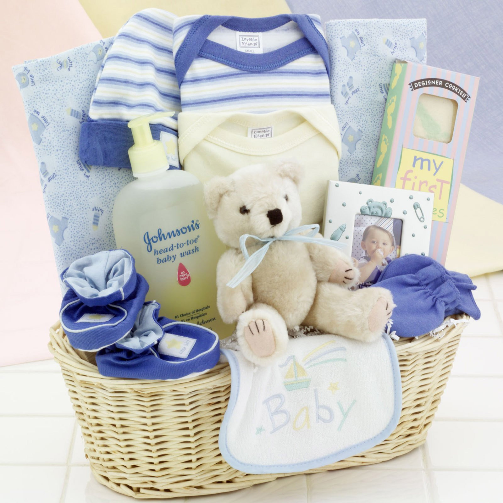 Best ideas about Newborn Baby Boy Gift Ideas . Save or Pin Baby Shower Baskets Souvenirs MARGUSRIGA Baby Party Now.