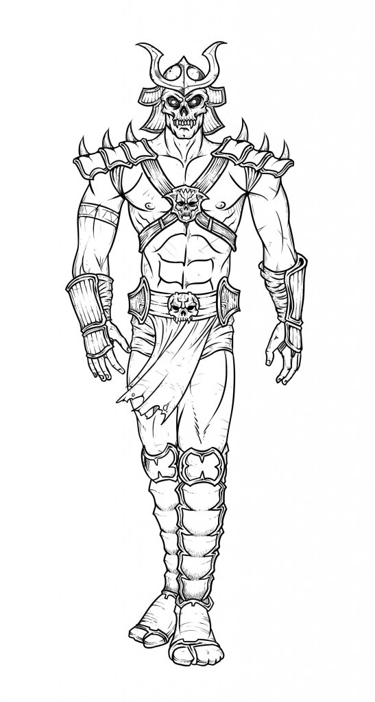 Nicole'S Free Coloring Pages  Free Printable Mortal Kombat Coloring Pages For Kids