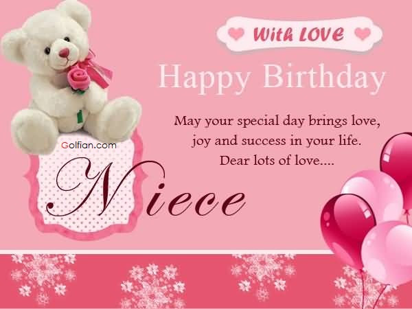 Best ideas about Niece Birthday Wishes . Save or Pin 35 Popular Birthday Wishes For Niece – Latest Funny Now.