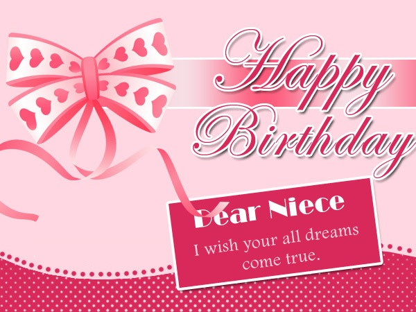Best ideas about Niece Birthday Wishes . Save or Pin Birthday Wishes for Niece Quotes and Messages Now.