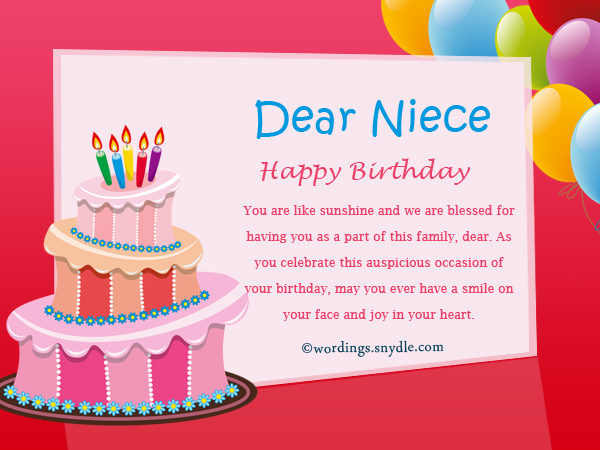 Best ideas about Niece Birthday Wishes . Save or Pin Happy Christian birthday wishes and Religious birthday Now.