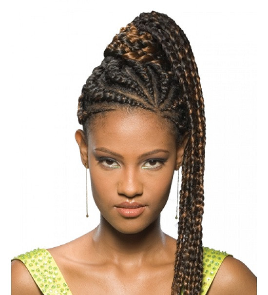 Best ideas about Nigerian Braid Hairstyles . Save or Pin Best African Braids Hairstyle You Can Try Now Fave Now.