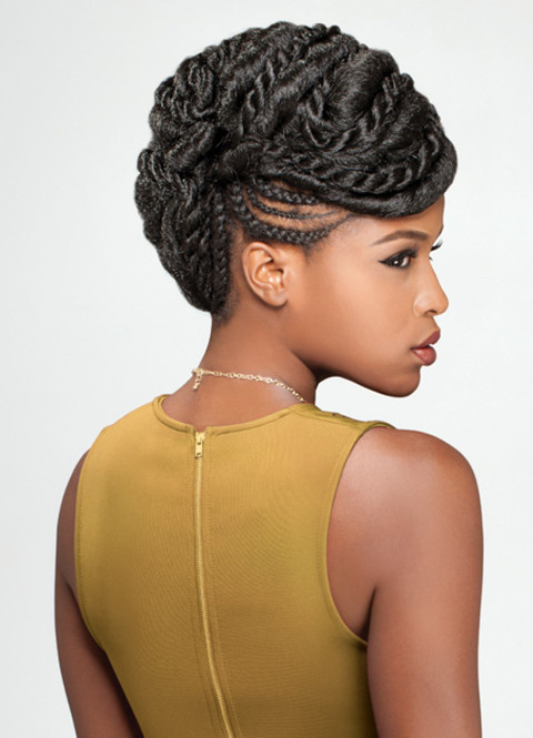 Best ideas about Nigerian Braid Hairstyles . Save or Pin 20 Charming Braided Hairstyles for Black Women – CircleTrest Now.