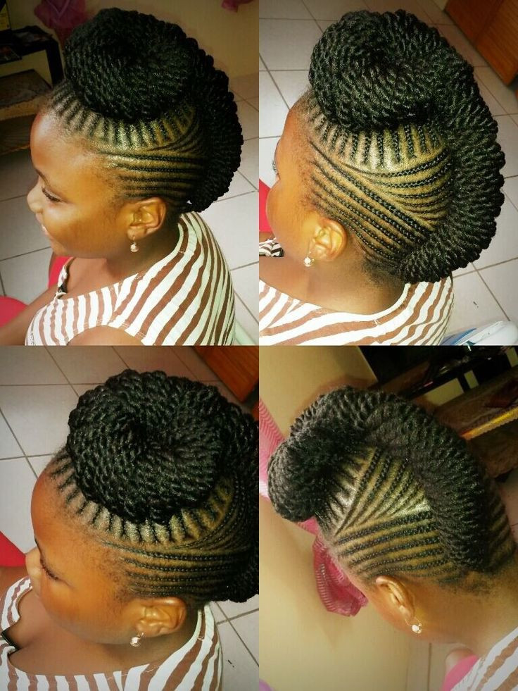 Best ideas about Nigerian Braid Hairstyles . Save or Pin ♡Natural braiding done by Jalicia St Kitts African Now.