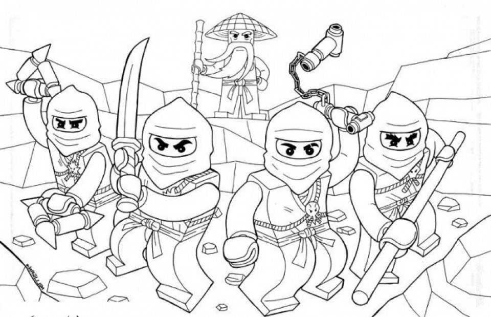 Ninjago Movie Coloring Pages  20 Free Printable Lego Ninjago Coloring Pages