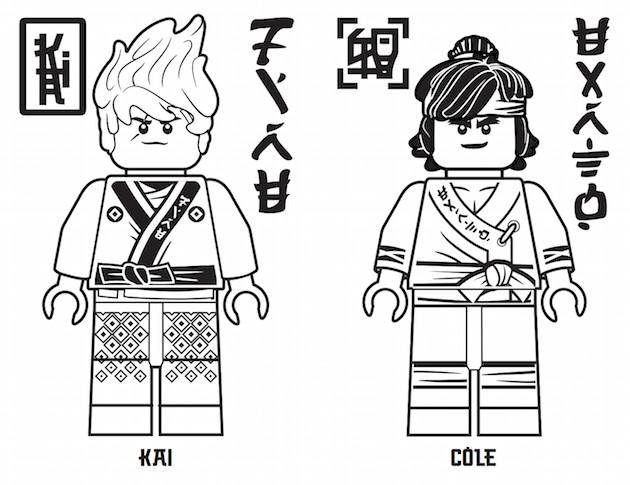Ninjago Movie Coloring Pages  The LEGO NINJAGO Movie Printables