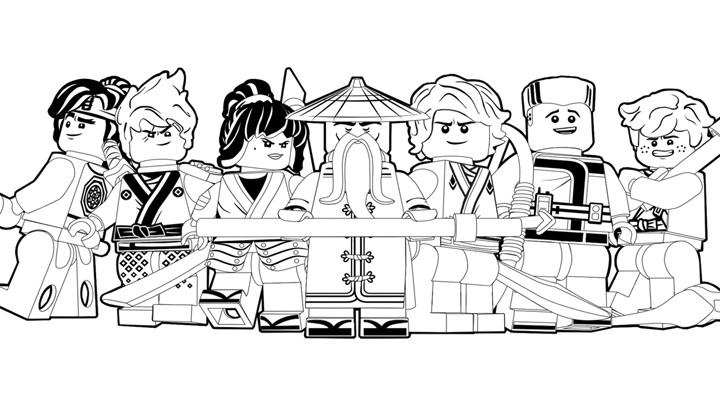 Ninjago Movie Coloring Pages  Good Guys Colouring Page NINJAGO Activities – LEGO