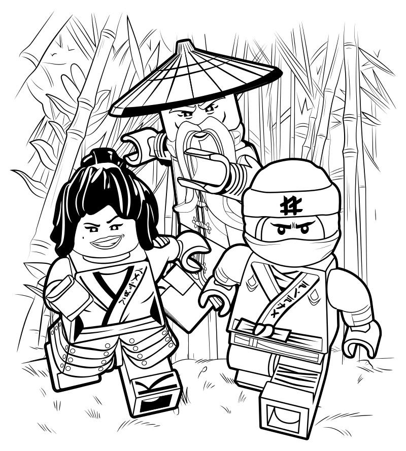 Ninjago Movie Coloring Pages  The lego Ninjago movie coloring pages to and
