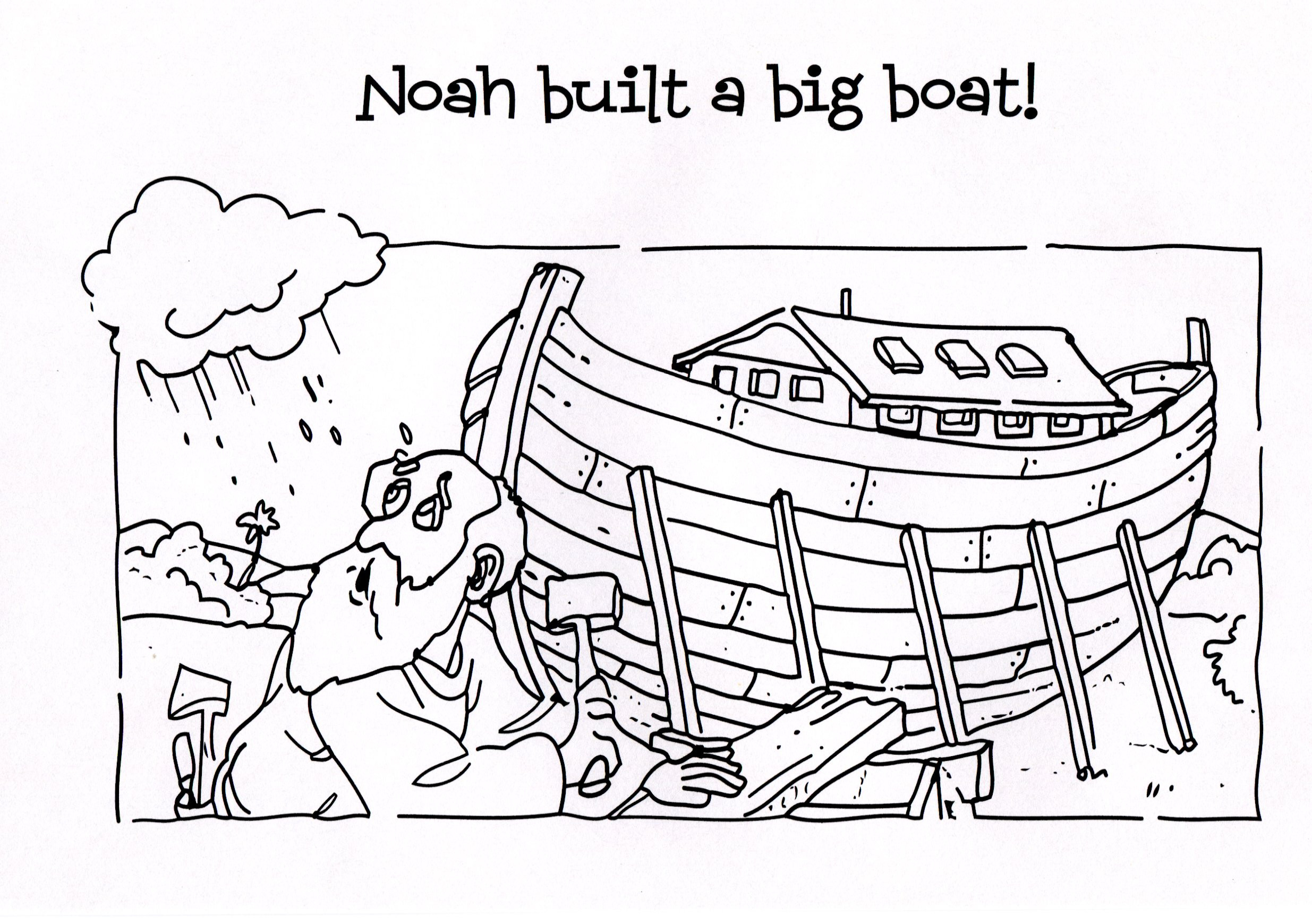 Noah Coloring Pages  Free Children Coloring Pages Noah Ark Real Ship The