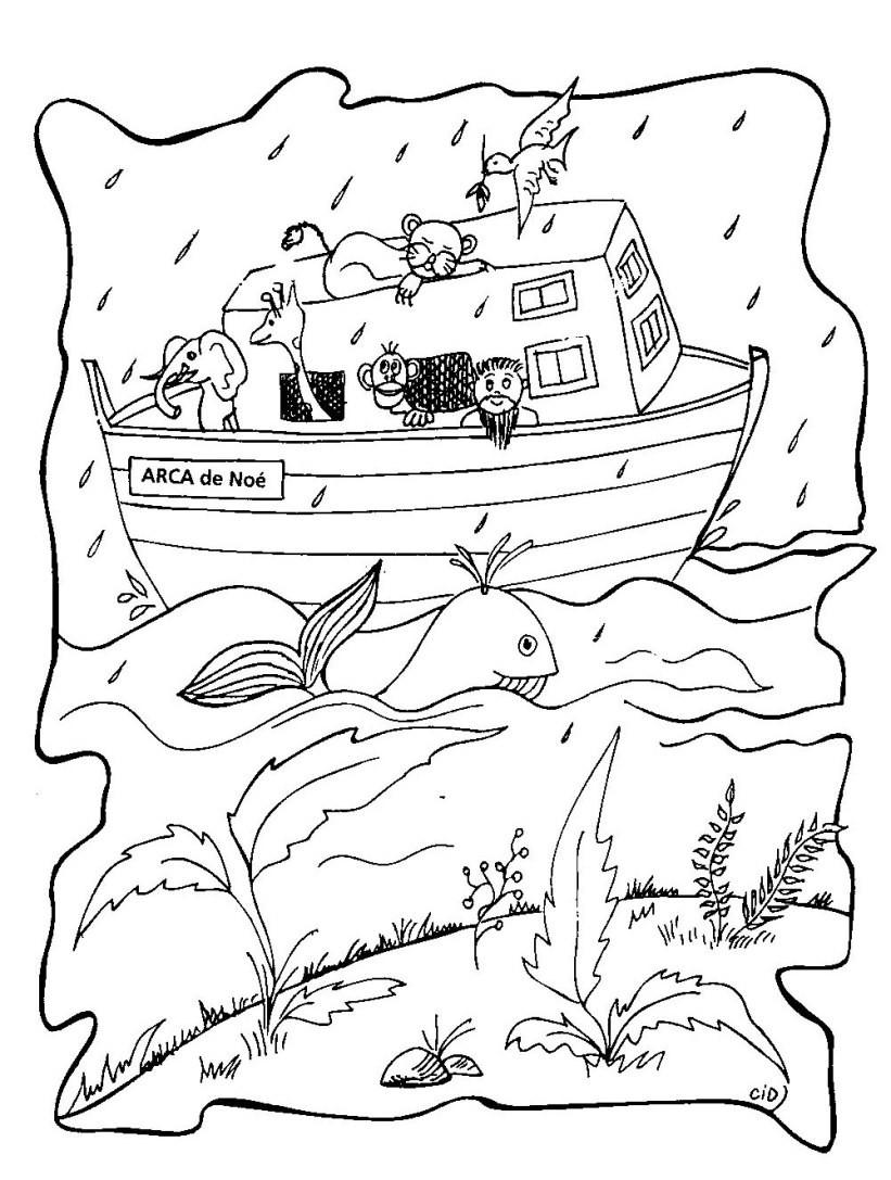 Noah Coloring Pages  Noah Coloring Pages grig3