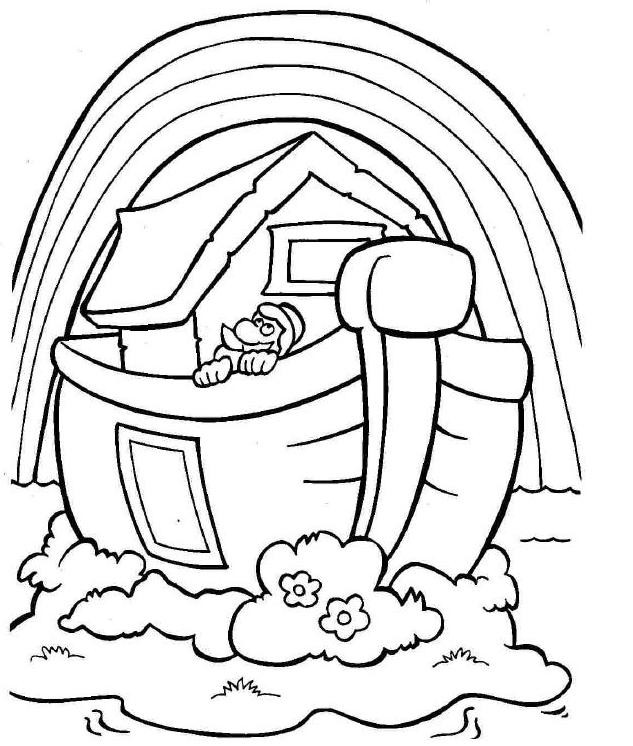 Noah Coloring Pages  Pinterest • The world's catalog of ideas