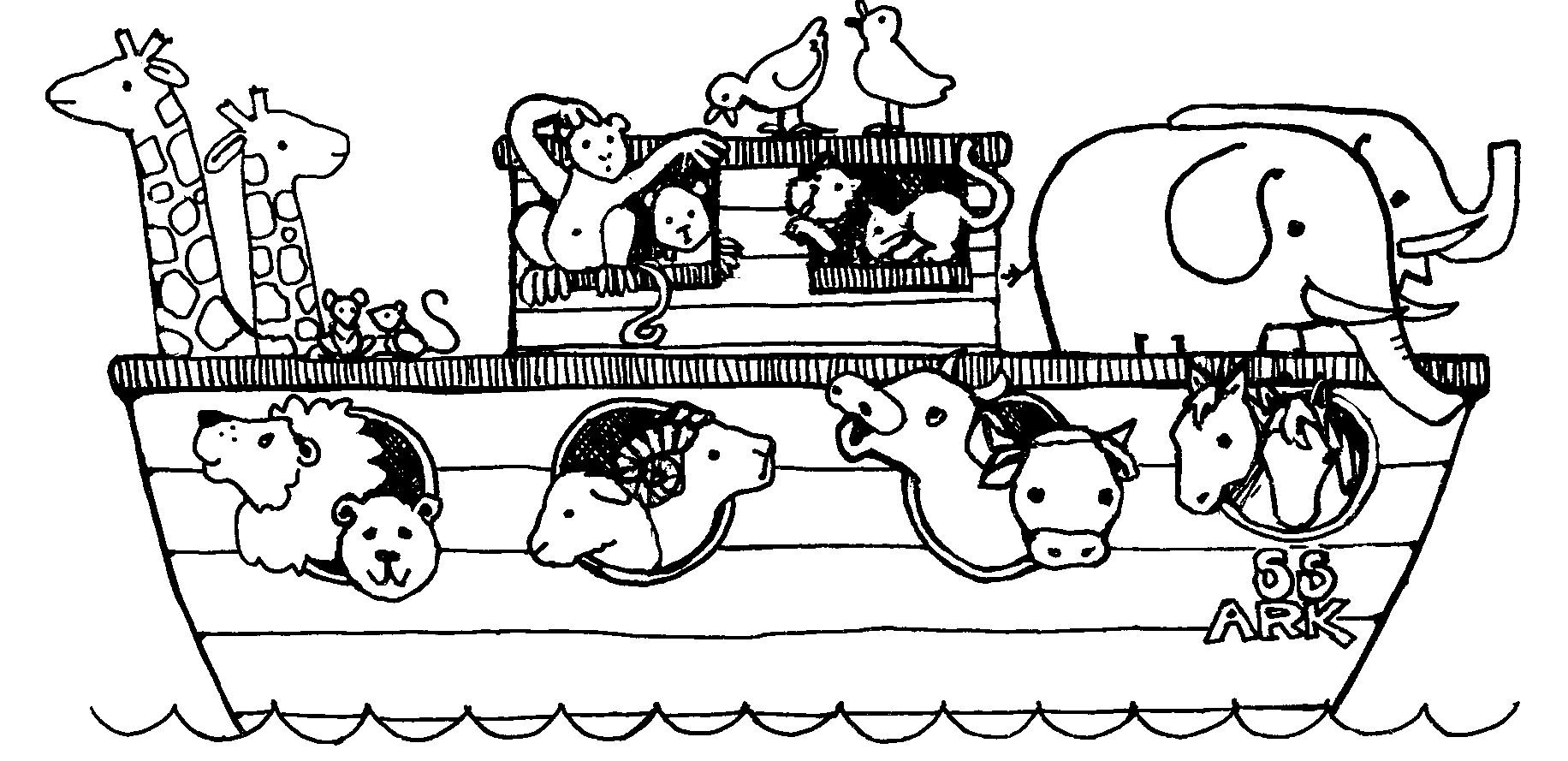 Best ideas about Noah'S Ark Free Coloring Pages . Save or Pin free noah s ark coloring pages Now.