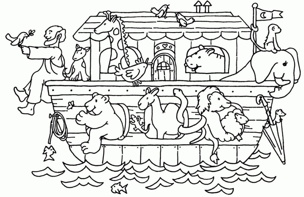 Best ideas about Noah'S Ark Free Coloring Pages . Save or Pin New Coloring Page Noah s Ark Coloring Page Noahs Ark Now.