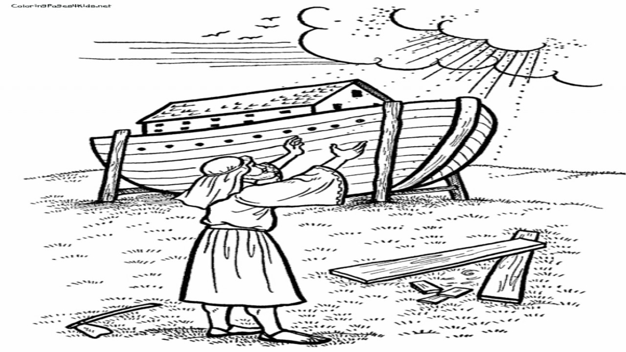 Best ideas about Noah'S Ark Free Coloring Pages . Save or Pin Noah And The Ark Coloring Pages To Print Bible grig3 Now.