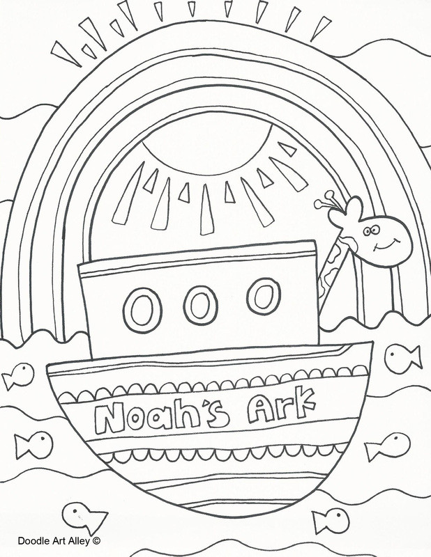 Best ideas about Noah'S Ark Free Coloring Pages . Save or Pin 43 Noah Coloring Page Noah Noah Drawings radiokotha Now.