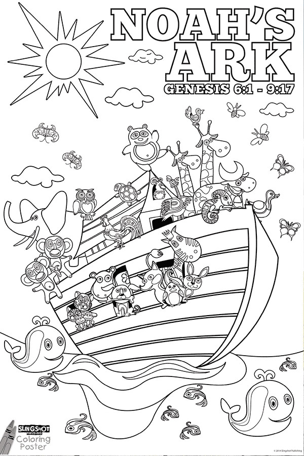 Best ideas about Noah'S Ark Free Coloring Pages . Save or Pin 27 Noah s Ark Printable Coloring Pages Printable Now.