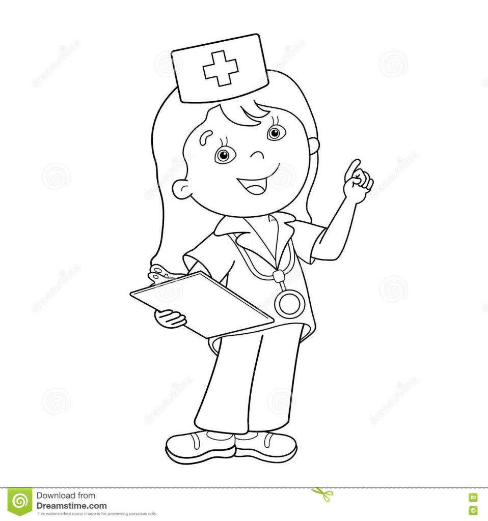 Nurse Coloring Pages For Kids  28 Free Printable Doctor Coloring Pages For Kids Ages