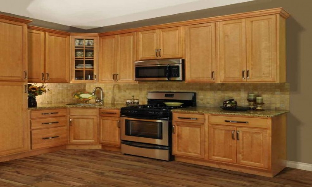 Best ideas about Oak Cabinets Kitchen Ideas . Save or Pin Cheap kitchen flooring kitchen design ideas with oak Now.